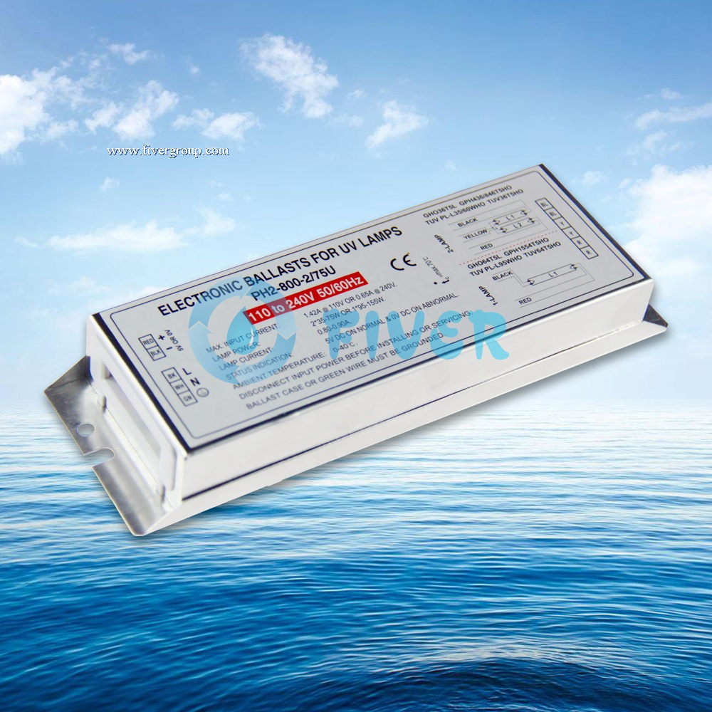 2x75W 800mA Potted UV Electronic Ballast