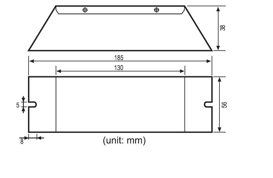 105w ultraviolet ballast for amalgam vapour lamp led light fixture wiring diagram
